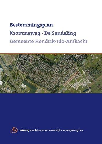 1. Ontwerp bestemmingsplan - Hendrik-Ido-Ambacht