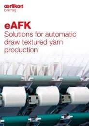 eAFK - Oerlikon Barmag - Oerlikon Textile