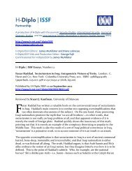 H-Diplo/ISSF Review Essay on Fanar Haddad. Sectarianism ... - H-Net