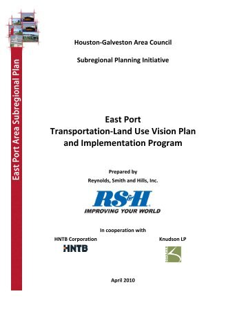 East Port Transportation-Land Use Vision Plan and Implementation ...