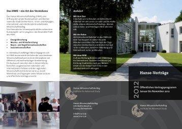 download - Hanse-Wissenschaftskolleg