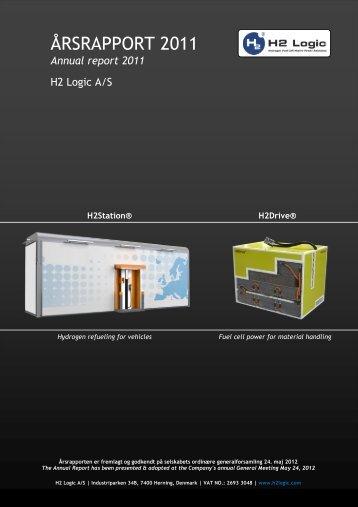 ÅRSRAPPORT 2011 - H2 Logic