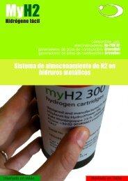 Sistema de almacenamiento de H2 en hidruros metálicos - H2Planet