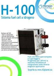 Brochure H-100 Front - H2Planet