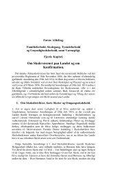 Kap. 4: Om Skolevæsenet paa Landet og om Konfirmation. - H 58