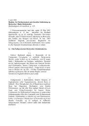 Reglement for Fattigvæsenet i Danmarks Kiøbsteder 1803. - H 58