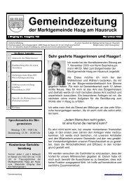 Ausgabe 198 - Nov. 2003 - Haag am Hausruck