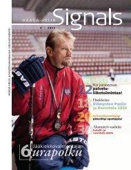 Signals 2/2011 - HAAGA-HELIA ammattikorkeakoulu