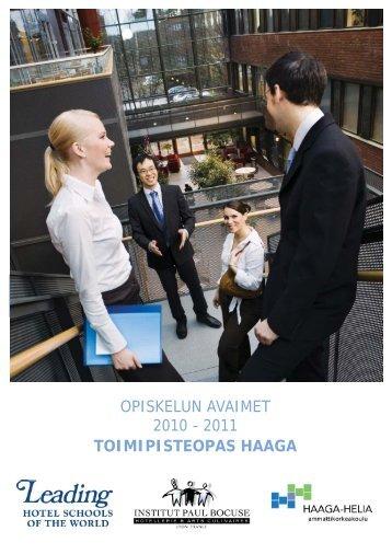 opiskelun avaimet 2010 - HAAGA-HELIA ammattikorkeakoulu