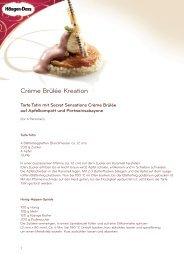Rezept für Crème Brûlée Kreation (PDF)