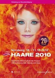 Nürnberg, 10. – 11.10.2010 - HAARE