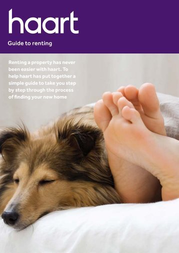Guide to renting - Haart