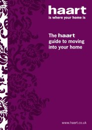 The guide to moving into your home - Haart