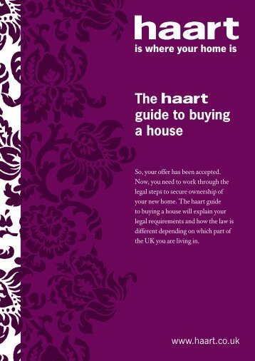 The guide to buying a house - Haart