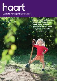 Guide to moving into your home - Haart
