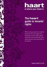 The guide to tenants' rights - Haart