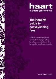 The guide to conveyancing fees - Haart