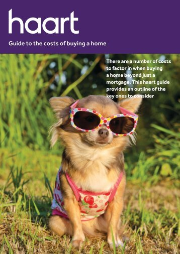 Guide to the costs of buying a home - Haart