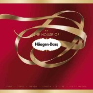 THE HOUSE OF - Häagen-Dazs