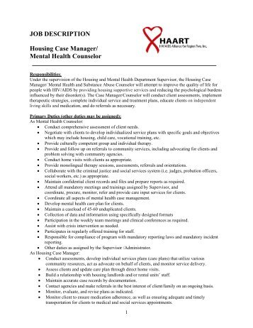 Final Mental Health Advocate Job Description  Iowa Department Of