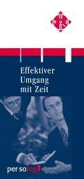 Effektiver Umgang mit Zeit - Haas Akademie Lienz