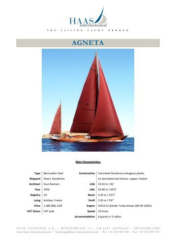 AGNETA - Haas International