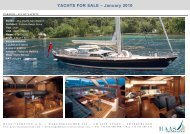 YACHTS FOR SALE ? January 2010 - Haas International