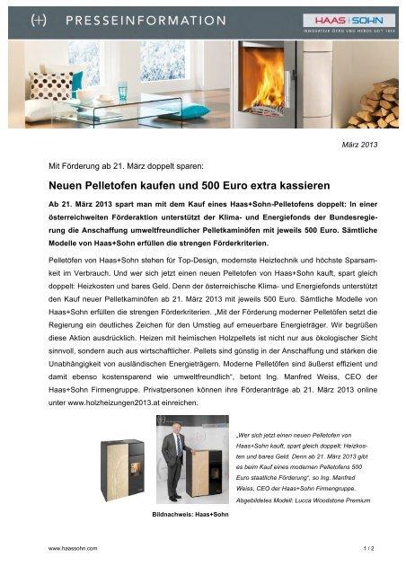 neuen pelletofen kaufen und 500 euro extra kassieren. Black Bedroom Furniture Sets. Home Design Ideas