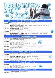 Feriowisko 2011 z Ckis - Centrum Kultury i Sportu w Postominie