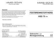 Herd HSD75FH weiss P_geschl_re ... - Haas + Sohn