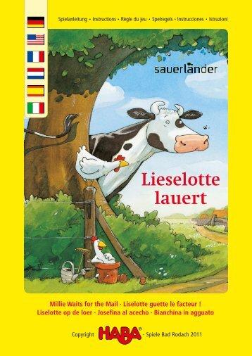 Lieselotte lauert - HABA USA
