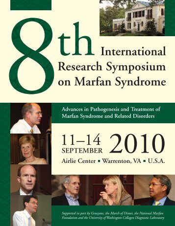 International Research Symposium on Marfan Syndrome