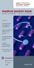 medical pocket book - Berger Medizintechnik GmbH