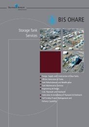 Storage Tank Services - Bilfinger Berger Industrial Services