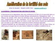 Amelioration Fertilite Des Sols par Benjamin Lisan - Habiter-Autrement