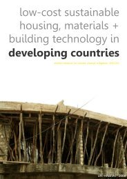 low-cost sustainable housing, materials + building technology in ...
