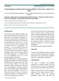 Prenatal Diagnosis of Multicystic Renal Dysplasia - Hospital ...