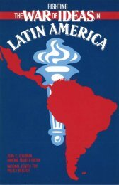 Fighting the War of Ideas in Latin America - Hispanic American ...