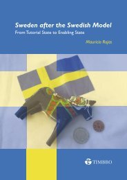 Sweden after the Swedish Model - Timbro