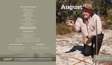 Month12 August12 - Hachette Australia