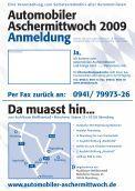 Automobiler Aschermittwoch 2009 - Autohaus - Page 2
