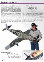 Messerschmitt Me-309 - Hacker Brushless Motors