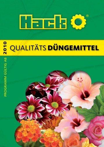Qualitäts-Dünger - Hack-duenger.de