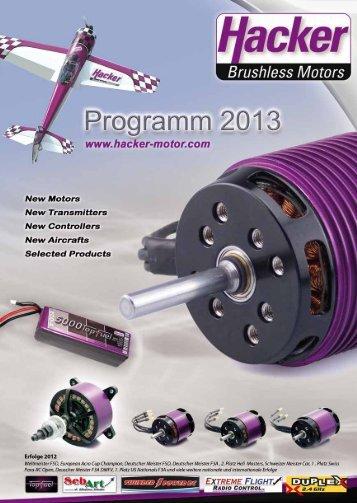 Download Hacker Programm 2013 - Hacker Brushless Motors