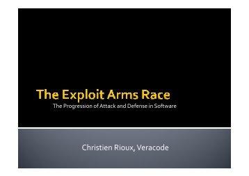Christien Rioux, Veracode - Hacker Halted