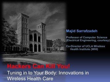 Hackers Can Kill You - Majid Sarrafzadeh - Hacker Halted