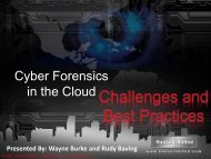 Cyber Forensics in the Cloud - Hacker Halted