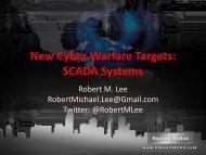 New Cyber Warfare Targets - Hacker Halted
