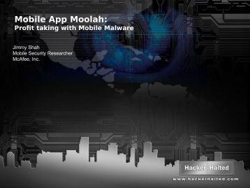 Mobile App Moolah: - Hacker Halted