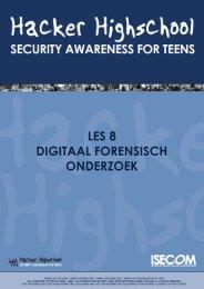 Digitaal forensisch onderzoek - Hacker Highschool